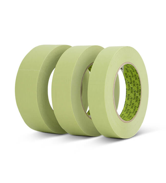 3M Scotch Tape 3030 Klebeband Grün - 24mm, 30mm, 36mm