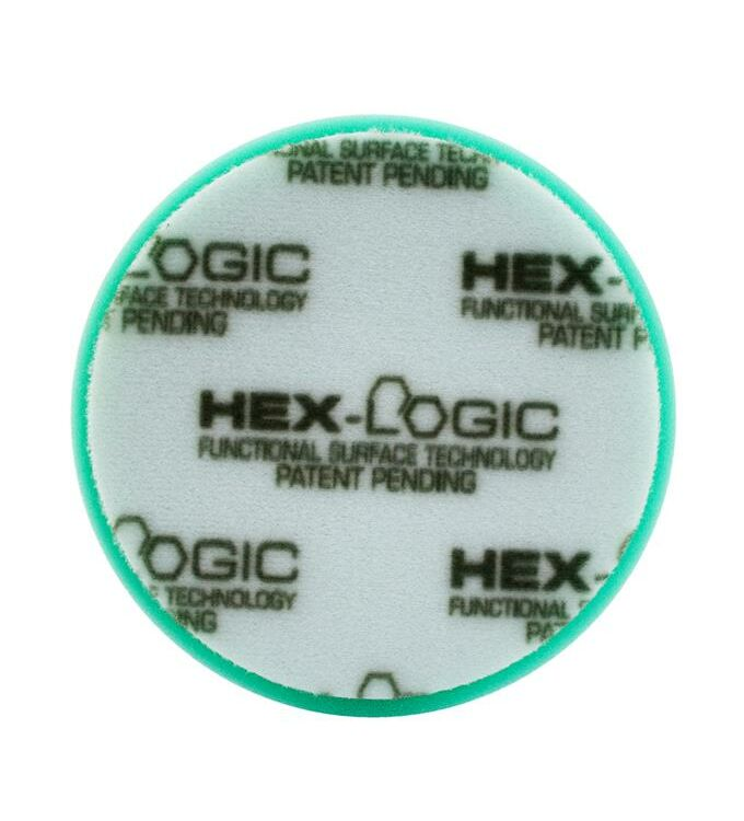 Chemical Guys Hex-Logic Polierschwamm Heavy Polishing Grün 5,5