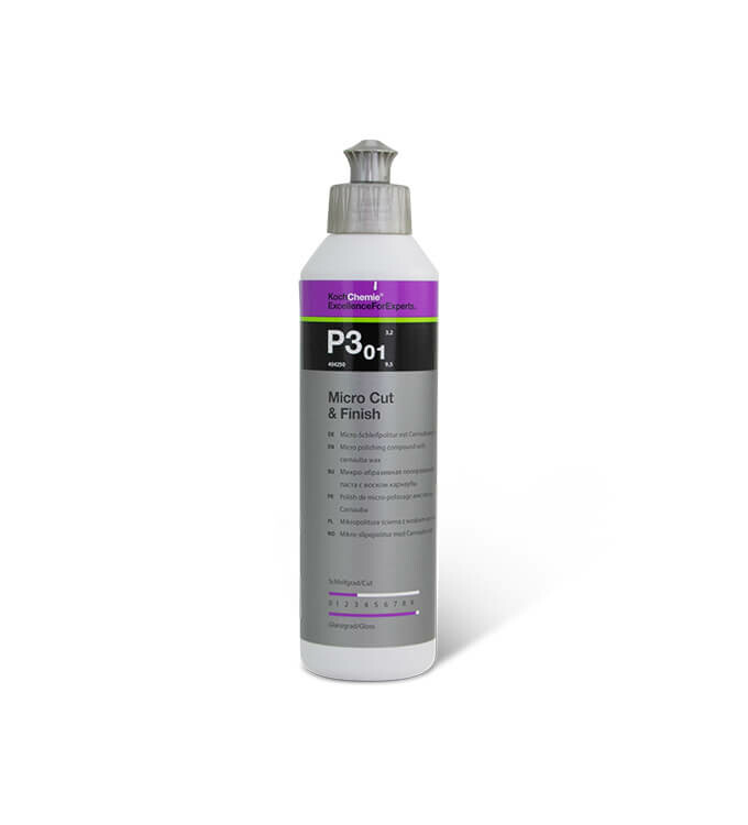 Koch Chemie Micro Cut & Finish P3.01 Politur mit Carnaubawachs 250ml