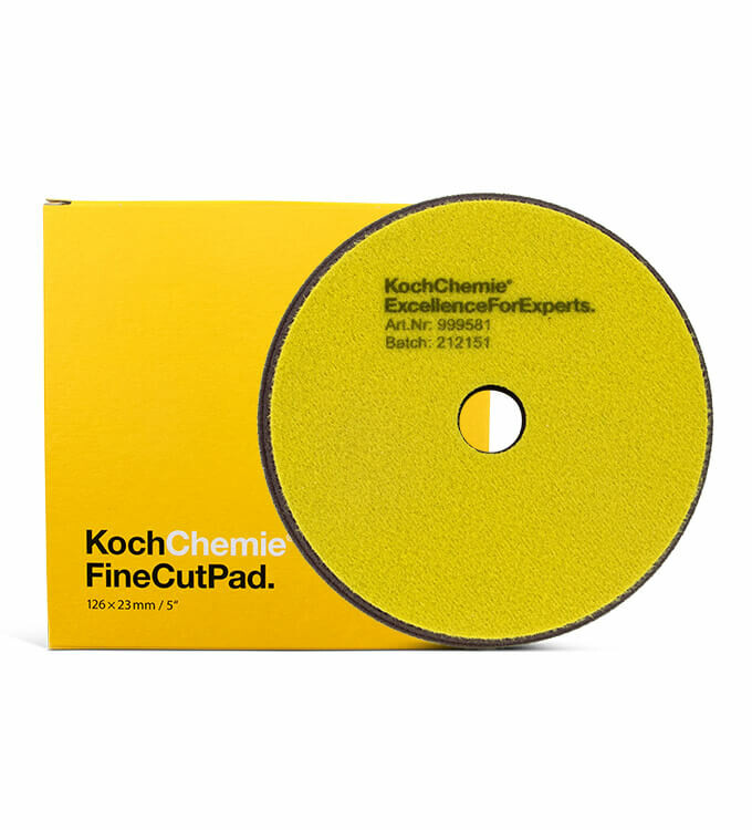 Koch Chemie Fine Cut Pads 126mm Fein 5er Set