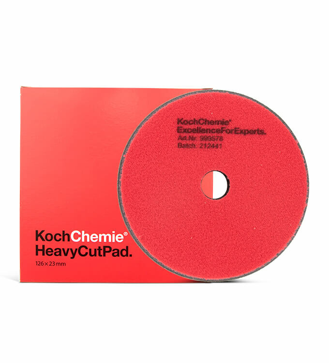 Koch Chemie Heavy Cut Pads 126mm Grob 5er Set