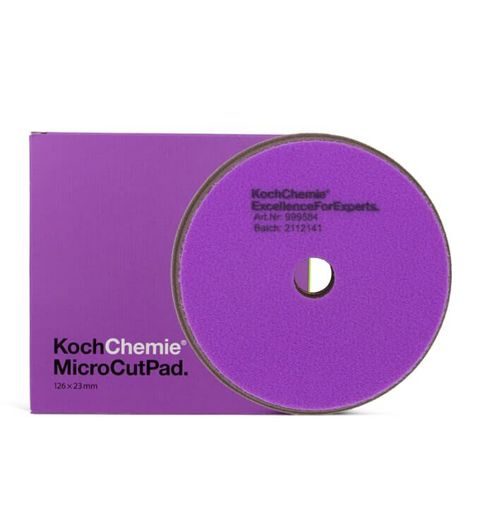 Koch Chemie Micro Cut Pads 126mm Medium 5er Set