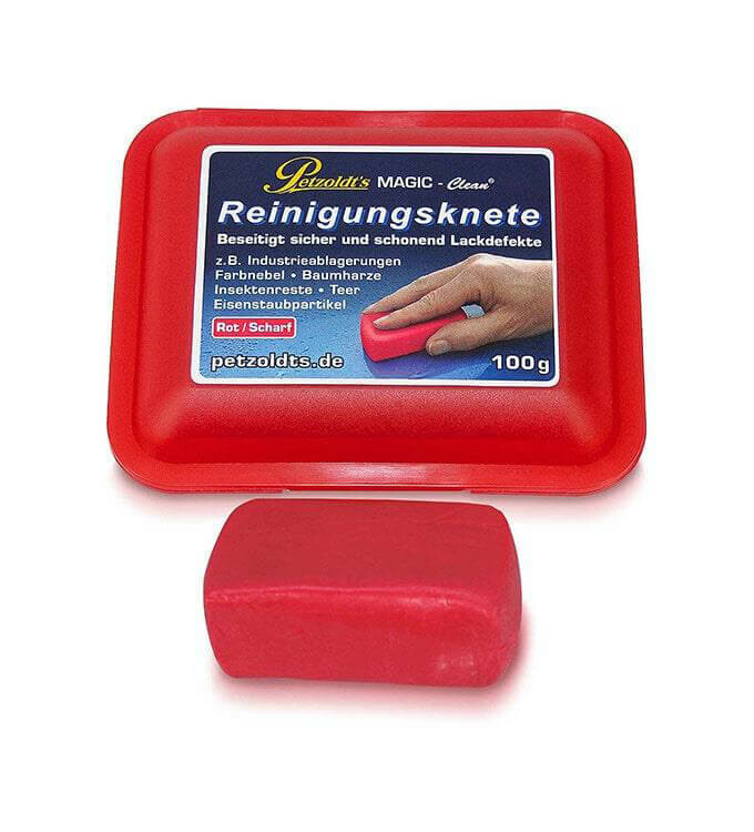 Magic Clean Reinigungsknete Scharf Rot 100g