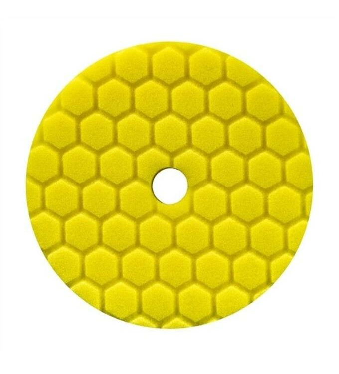 Chemical Guys Hex-Logic Quantum Heavy Cutting Pad Yellow 5,5