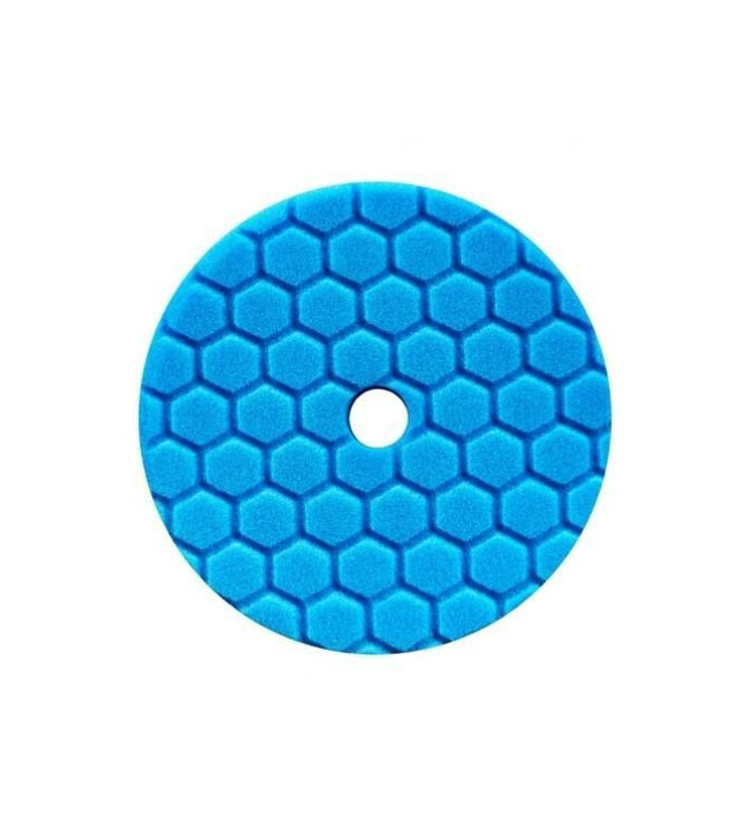Chemical Guys Hex-Logic Quantum Polierschwamm Soft Polishing Blau 6,5