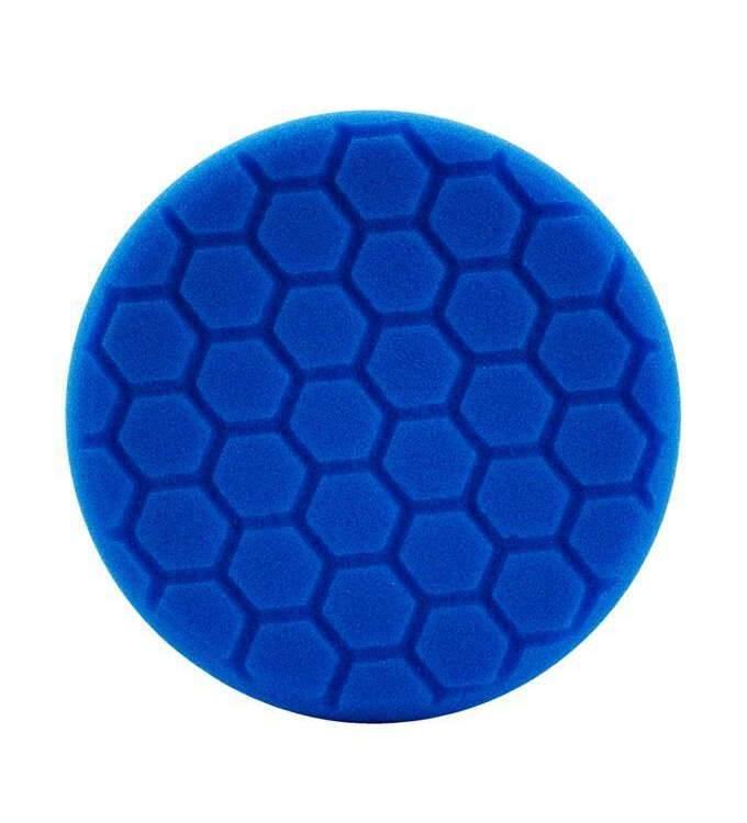 Chemical Guys Hex-Logic Polierschwamm Soft Polishing Blau 5,5
