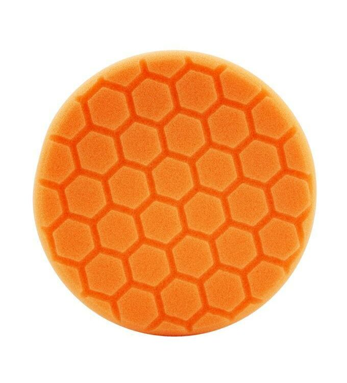 Chemical Guys Hex-Logic Polierschwamm Medium Cutting Orange 5,5