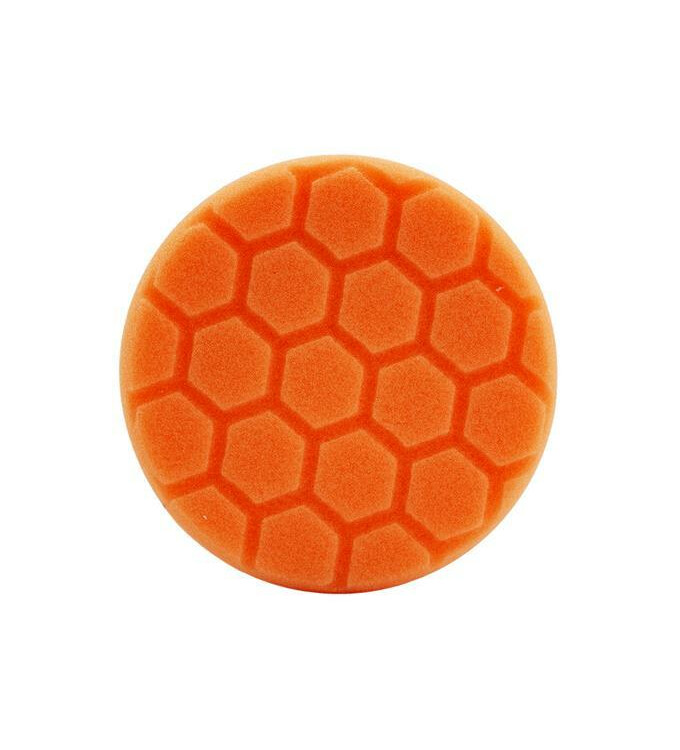 Chemical Guys Hex-Logic Medium Cutting Pad Orange 4