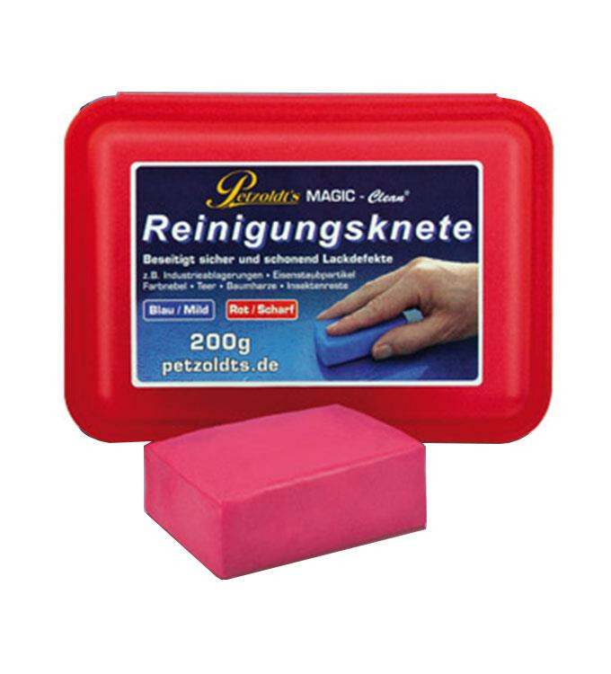 Magic Clean Reinigungsknete rot 200g